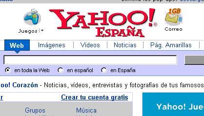 CORREO ELECTRÓNICO DE YAHOO/1