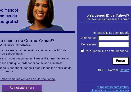 CORREO ELECTRÓNICO DE YAHOO/2